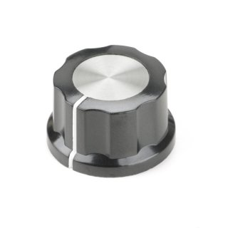 Daka-Ware Knob with Metal Cap 27mm