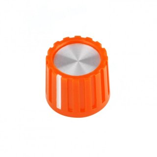 Mini Knob Robot Orange